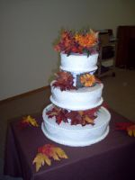 another fall wedding cake by pandora1921