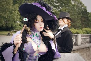 Trinity Blood Manga Cosplay: Jane and Mary by alberti