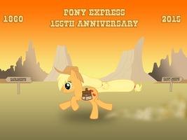 Pony Express by ZeFrenchM