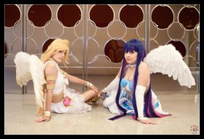 Panty and Stocking - Fallen Angels by Kuragiman