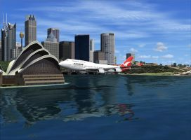 Harbour Area Promo Flight 3 by flightlevel-380