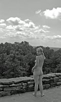 Nude Backside in Mountains by candhphotography