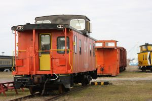 CN Steel Caboose by 914four