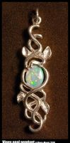 Viney opal pendant by Dans-Magic