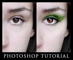 Digital Eye Makeup Tutorial by Cutspring