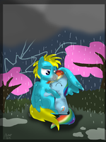 Stormy night by NataliStudios