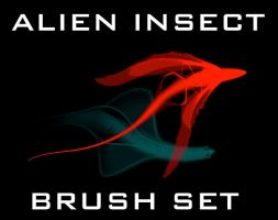 HN Alien Insect Brushes by HumanNature84