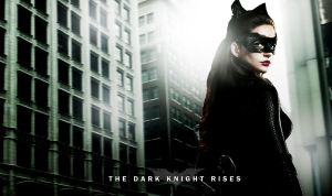 The Dark Knight Rises - Catwoman Wallpaper by satorifrenzy