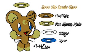 ::Nova the Koala Chao - Ref by sarathehedgehog