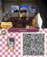 Octavia Image (Animal Crossing QR Code) by Priceless911