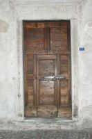 Old Wood Door by Stichflamme-Stock