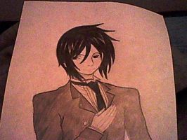 Sebastian The Black Butler by MichaelJackson3000
