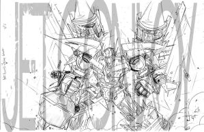 ROTF Jet Convoy pencils by dcjosh