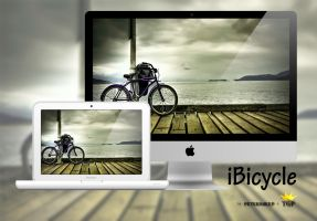 iBicycle wallpaper by The-Golden-Princess