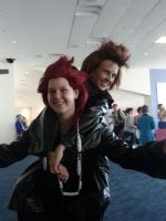 Goldcoast Supanova 2012 - Axel + Demyx by MrOrangeCreamsicles