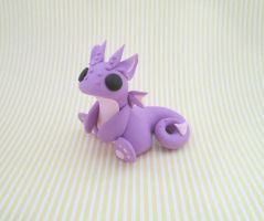 Lavender Dragon by KriannaCrafts