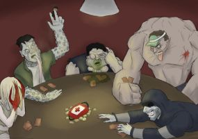 Poker Night at the Riverside by Tbopi