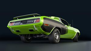 plymouth barracuda 1971-2 by backplate101