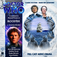 Custom Bloodtide Big Finish CD Cover by theDoctorWHO2