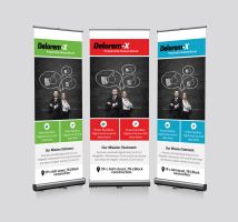 Business Roll Up Banners Template by Designhub719