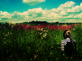 Out here in the meadow by lunka