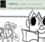 Ask SSB4:Everyone's Opinion of Villager question#7 by The-Star-Hunter