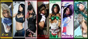 all my cosplay... by Michela1987
