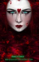 Queen of hearts by RubyRosy