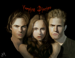 The Vampire Diaries by 0Snow-White0