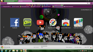 New Chrome background :33 by jag2583