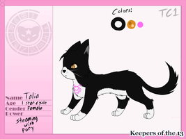 KoT13 - Talia Reference - Taurus by slycooper998