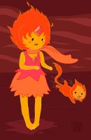 Loli Flame Princess by Kairu-Hakubi