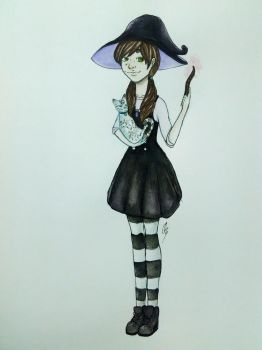 Witchy Art Challenge #1 by DrawsFromMyMind