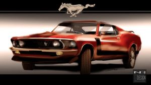 Ford Mustang by SnatchIDs