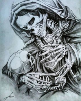 Mother of Grim Reaper by aditparsial