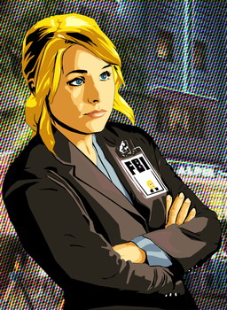 Veronica Mars, FBI. by TenshiRisu