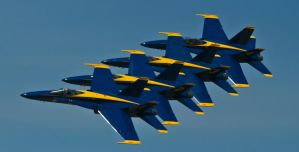 Blue Angels 2008 6 by GoThroughTheIris