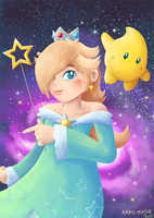 Rosalina and Luma by Kosmotiel