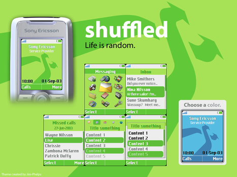 shuffled for K700i by jim-phelps