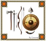 Viking Accoutrements by Geosammy