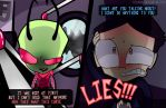 Invader Zim.- Obsession Chapter 2  (ZaDr) by yusunaby
