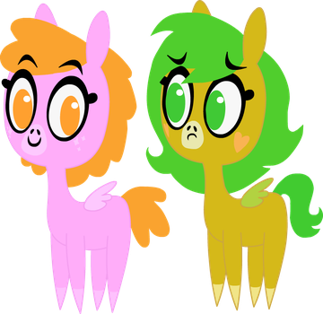Sparkle Face and Butter Bean by Twitchy-Tremor