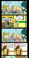 G3 In ponyville by Vector-Brony