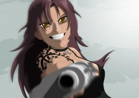 Black Lagoon - Revy ? by S-desu