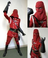 Crimson Cobra Commander by HeroesByHand
