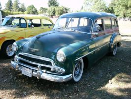 1951 Chevrolet Styleline DeLuxe Station Wagon by RoadTripDog