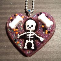 Candy skeleton by Lutrasaura