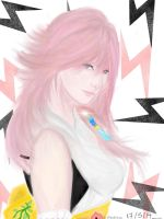 Lightning Returns : DLC Yuna Garb by Manami-Miku