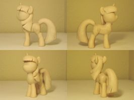 Twilight Sparkle My Little Pony FiM Sculpture WIP by Blackout-Comix