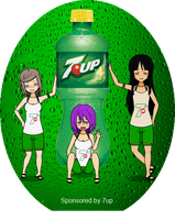 7up ad by Sunie-chan